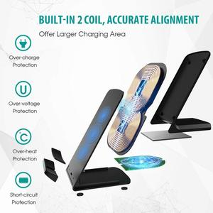 Image 5 - FDGAO 15W Qi Wireless Charger 10W Quick Charge สำหรับ iPhone 11 XS XR 8 X Airpods Pro USB C สำหรับ Samsung S20 S10