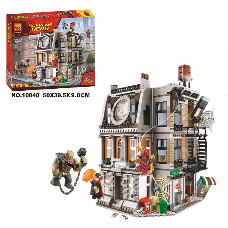 New 76108 Lepining Marvel Avengers Sanctum Sanctorum Showdown Building Block Bricks Kits Brick Toy Gifts 10840