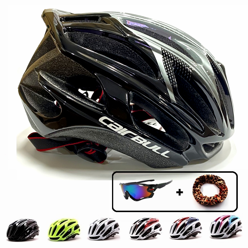 Cairbull MTB Road Bike Helmets Ultralight Casco Ciclismo Breathable Cycling Cap Riding Helmet BMX Speed Contest Safety Casque