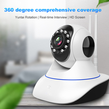 цена на 720P 1080P 3MP IP Camera 360 Wireless Wifi Home Security Surveillance Camera Night Vision CCTV Monitor H.264 CMOS Drop Shipping
