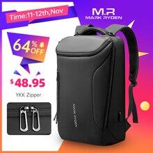 マークライデン 2020 新抗泥棒ファッション男性のバックパック多機能防水 15.6 インチのラップトップバッグマンのusb充電旅行バッグ