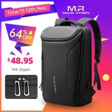 Рюкзак Mark Ryden мужской, многофункциональный, водонепроницаемый, с USB зарядкой, отделением для ноутбука диагональю 15,6 и защитой от кражи, 2020