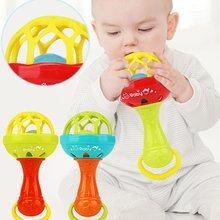 1шт развлечения игры ребенок мягкий резина прорезыватель погремушка стержень многофункциональный ребенок погремушка палка с прорезыватель ребенок рука удерживание игрушка