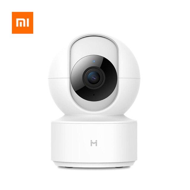 Xiao mi mi jia Chuang mi akıllı IP kamera PTZ 1080P HD Webcam kamera 360 açı WIFI kablosuz kamera gece görüş mi ev