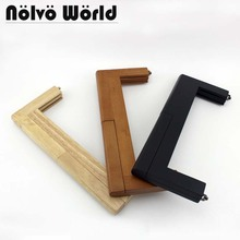 5 pieces,3 colors 28X11cm 11 Inch Oversize Nature Tree Wood Frame for women BIG purse clutch bags Wood Frames