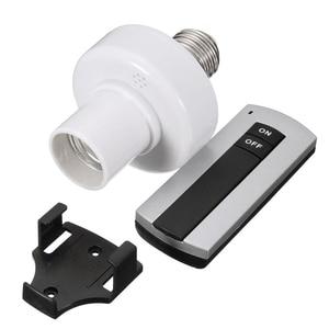 Image 5 - E27 소켓 캡 rc 무선 원격 제어 라이트 램프 전구 홀더 스위치 홈