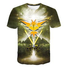 New 3D printed T-shirt Pokémon casual O-neck male T-shirt Pikachu short sleeve Cosplay fun hip-hop breathable T-shirt top new women fashion letter printed colorful striped short sleeve t shirt female summer sexy crop top korean o neck casual t shirt