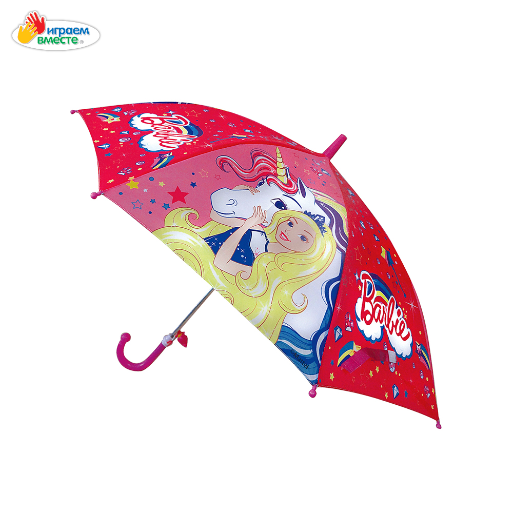 Umbrellas IGRAEM VMESTE 268893 children's umbrella bright drawing for a child for a girl