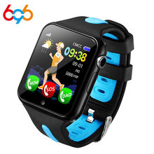 696 V5K Kids Smart Watch GPS Waterproof Tracker HD Camera SOS Call Location Tracking Monitor Children Smartwatches gift watch(China)