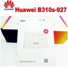 Odblokowany nowy Huawei B310 B310s-927 150Mbps 4G LTE CPE WIFI ROUTER Modem z antenami pk b315s-22 b310s-22 b593u-12 tanie tanio CN (pochodzenie) wireless 150 mbps 1 x USB 2 0 2 4g Wi-fi 802 11g 802 11n Firewall Domu