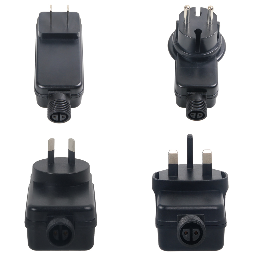 AC 100-240V To DC <font><b>12V</b></font> 0.5A Outdoor Hanging Wall Switch Power Supply Universal IP44 Waterproof <font><b>Adapter</b></font> AU EU US GB UK Plug 44CF image