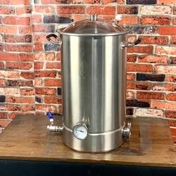 وعاء 60L ، غلاية ، خزان ، تخمير مع التقطير غطاء جرس ، تصحيح ، الفولاذ الصحي 304