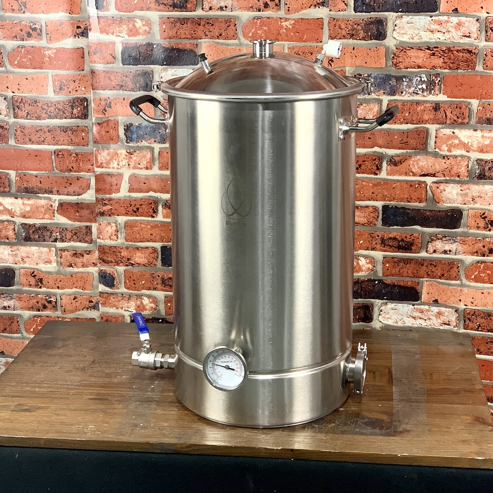 60L Pot, Boiler, Tank, Fermenter With Bell Lid  Distillation, Rectification, Sanitary Steel 304