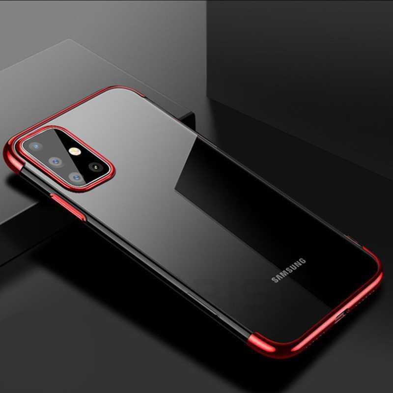 Ultra-Tipis TPU Fundas Silikon Lembut Case untuk Samsung Galaxy A01 A11 A21s A31 A41 A51 A71 M11 M21 m31 S10 Plus S20 Ultra Catatan Note 10 Lite M01 S10e A10 A30 A30s A40 A50 A70 Shell Cover