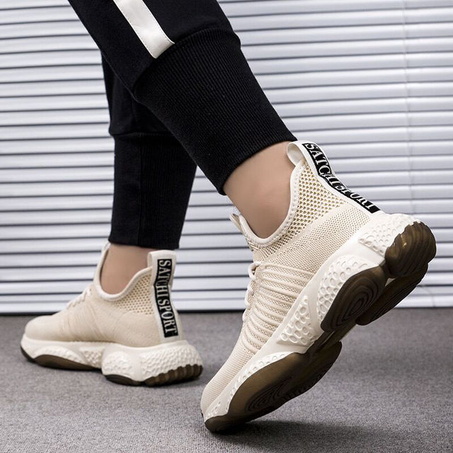 Breathable Comfortable Lace-Up Baskets Sneakers 10