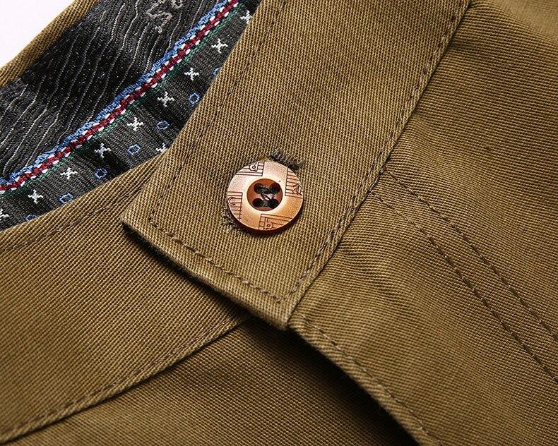 H855730ef247743d5a02010942b417cda0 Autumn Winter Men Warm Fleece Classic Black Cotton Pants Mens Business Loose Long Trousers Quality Casual Work Pants Overalls