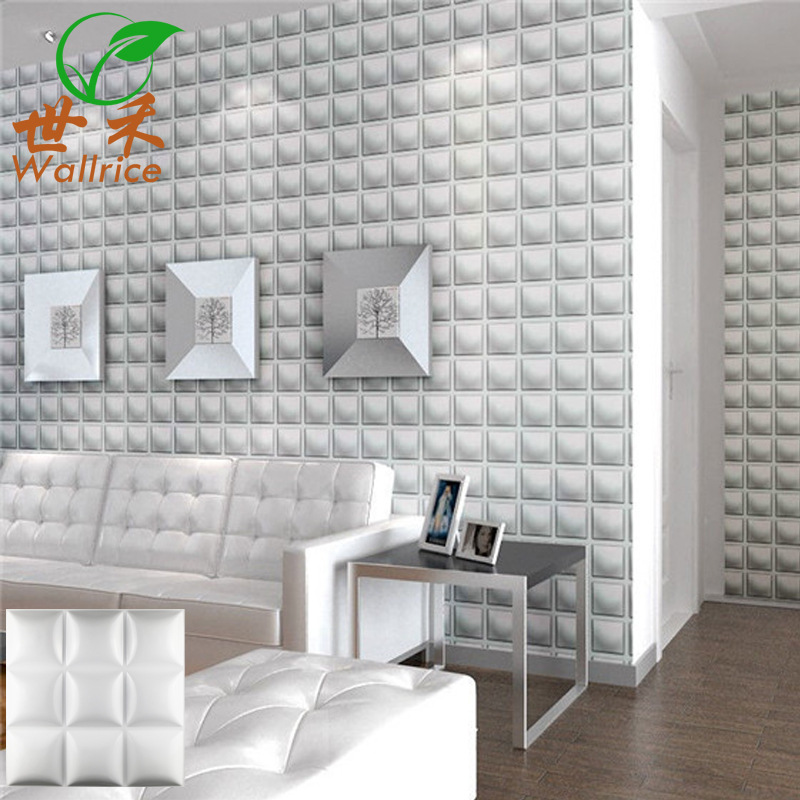 Dongguan PVC3d Board Three-dimensional Board TV Backdrop Decoration Material Living Room Bedroom Relief Stereo Wallpaper