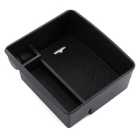 Central armrest container holder tray storage box For Toyota Land Cruiser Prado FJ 150 2003 2016 Accessories|Stowing Tidying| |  -
