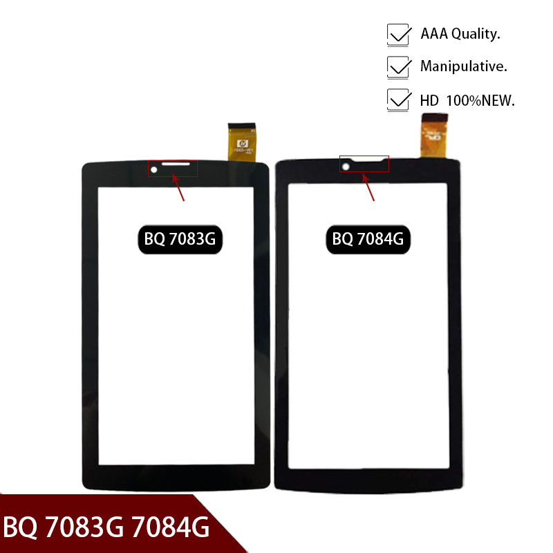 New Original 7 inch Tablet touch for <font><b>BQ</b></font> <font><b>7083G</b></font> <font><b>BQ</b></font> 7084G touch screen digitizer glass replacement repair panel Free shipping image