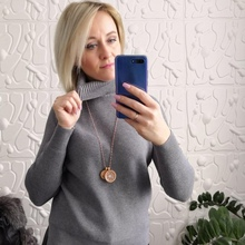 Turtleneck Women Sweater Winter Warm Female Jumper Thick Christmas Sweaters Ribbed Knitted Pullover Top Pull Hiver Femme turtleneck ribbed jumper sweater