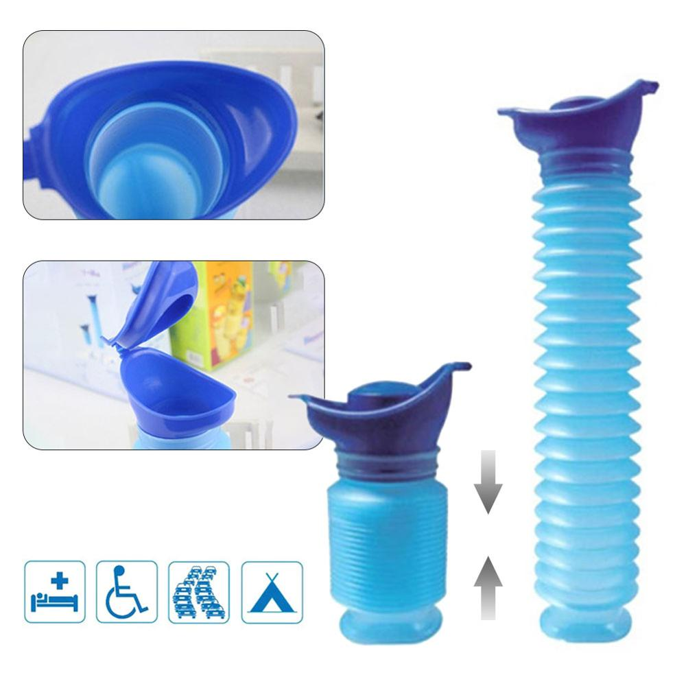 Best Quality 750ML Portable Adult Urinal Outdoor Camping Travel Urine Car Urination Pee Soft Toilet Urine Help Men Toilet