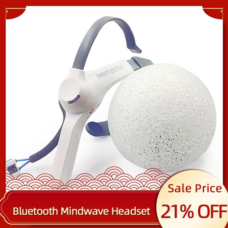 Fone de Ouvido Atenção e Meditação Dispositivos de Feedback Neuro para Arduino Mindwave Bluetooth Móvel Eletrodo Seco Eeg Controlador