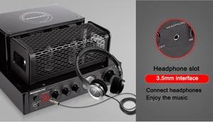 Image 3 - Nobsound MS 30D MKII Bluetooth Amplifier tube Amplifier support Bluetooth USB optical Coaxial Bass DVD CD input Amplifier
