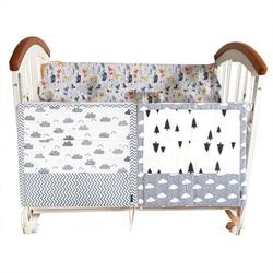 Musselina árvore cama pendurado saco de armazenamento berço do bebê marca bebê algodão berço organizador 60*50cm brinquedo fralda bolso para berço conjunto