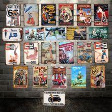 [Mike86] Чемпион гаража, Вапа, металлический знак, винтажный паб, магазин, железная живопись, художественный плакат, Искусство 20*30 см