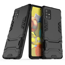 Phone Case For Samsung Galaxy A51 5G Cover TPU & PC Holder Back Housings Phone Bumper For Samsung Galaxy A51 Case Funda armor phone case for samsung galaxy a51 cover tpu