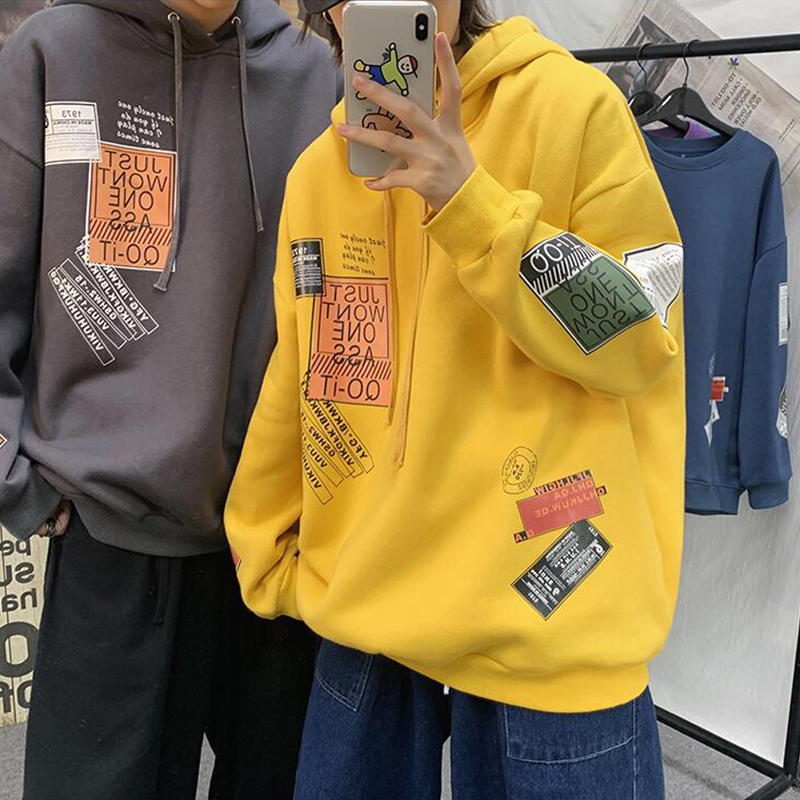 Privathinker Autumn Men Oversized Hoodies Graphic Printed Men's Pullovers 2020 Japanese Man Casual Hooded Sweatshirts Tops 5XL