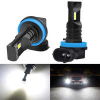 2pcs H8 H11 Fog Light Bulb 9006 HB4 H3 H10 9145 PSX24W H16 LED Bulbs Car DRL Fog Lamp For Toyota Corolla CHR Camry 2018 Auris