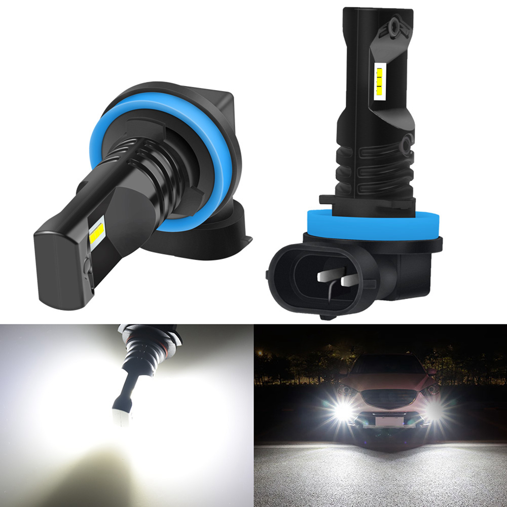 2pcs H8 <font><b>LED</b></font> H11 Fog Light Bulb 9005 9006 H1 H3 H10 PSX24W H16 H27 880 881 <font><b>LED</b></font> Bulbs Car DRL Fog Lamp For <font><b>Honda</b></font> civic <font><b>2018</b></font> <font><b>crv</b></font> image