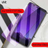 UVR para VIVO V7 Plus V7Plus Y79 Anti-Luz Azul 2.5D vidrio templado para VIVO V7 Y75 Anti Protector de pantalla azul