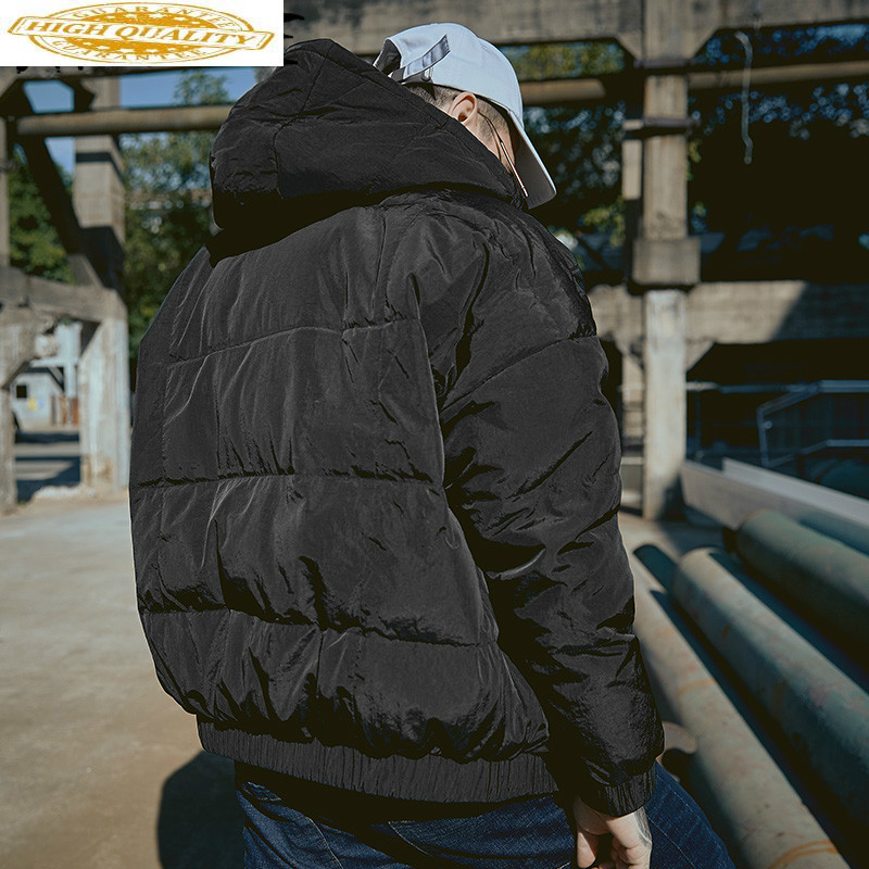 90% White Duck Down Jacket Winter Coat Men Korean Plus Size Puffer Jacket Men Hooded Parka Doudoune Homme Y8003 YY1351