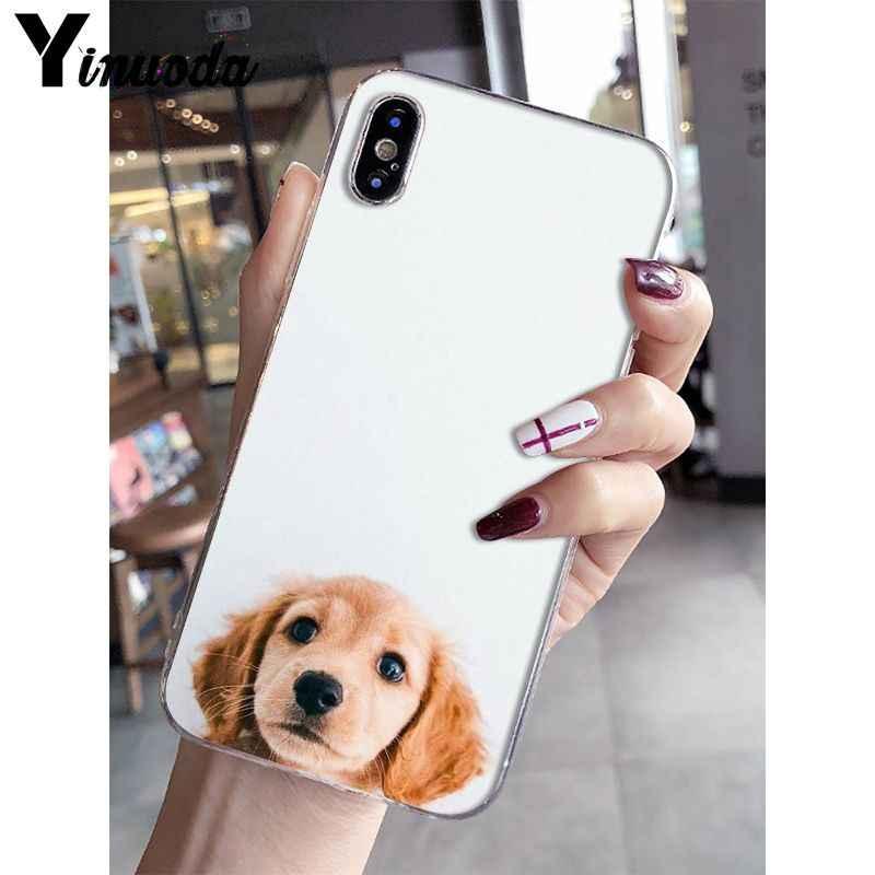 Yinuoda Siêu dễ thương Hưu Vàng TPU Cao Su Mềm Điện Thoại cho iPhone 8 7 6 6S 6S Plus X XS MAX 5 5S SE XR 10 Bao