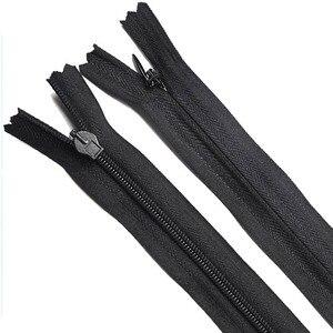 3 # черно-белые невидимые мини-молнии, нейлоновая катушка для шитья, ремесла, нейлоновая молния, накидка на диван, молнии 13/15/18/20/23 см