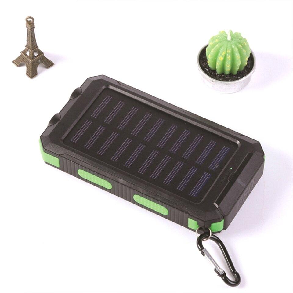 led carregamento rápido bateria externa painel de