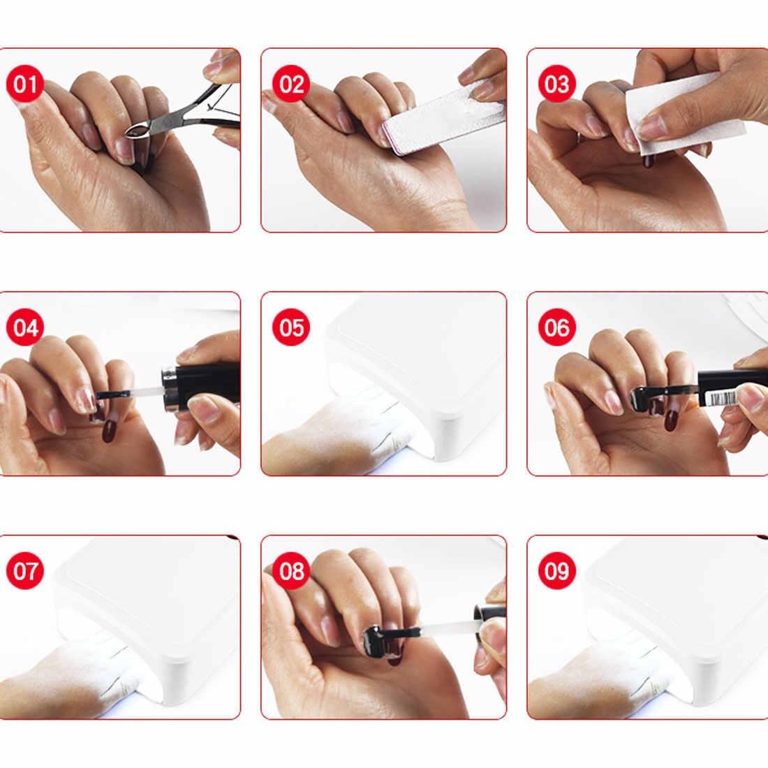Профессиональная 36 Вт УФ светодиодная лампа для сушки ногтей Гель-арт светильник горячая Распродажа перезаряжаемый отверждающий маникюрный терапевтический светильник EU Plug