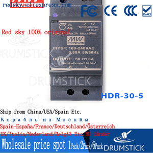 Image 4 - Steady MEAN WELL HDR 30 5 5V 3A meanwell HDR 30 15W Single Output Industrial DIN Rail Power Supply