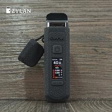 ZYLAN 2020 Neue Fall für SMOK RPM40 Pod Kit Vape Silikon Abdeckung Haut Schutz Gummi Hülse Mod Schild