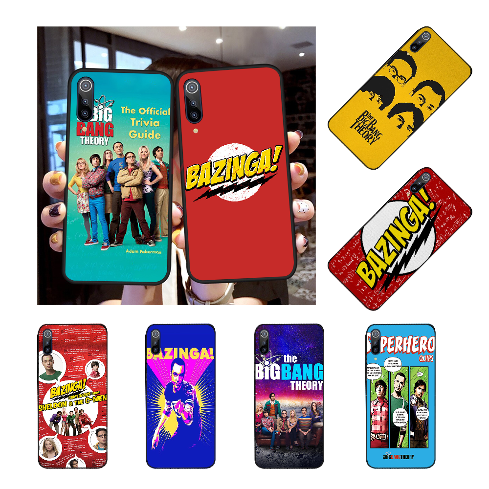 NBDRUICAI The <font><b>Big</b></font> <font><b>Bang</b></font> Theorys Cover Black Soft Shell <font><b>Phone</b></font> <font><b>Case</b></font> for Redmi Note 8 8A 7 6 6A 5 5A 4 4X 4A Go Pro Plus Prime image