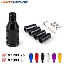 Универсальное автомобильное Руководство переключения передач адаптер для ручки для M10x1.5/M12x1.25 резьбы алюминиевого сплава