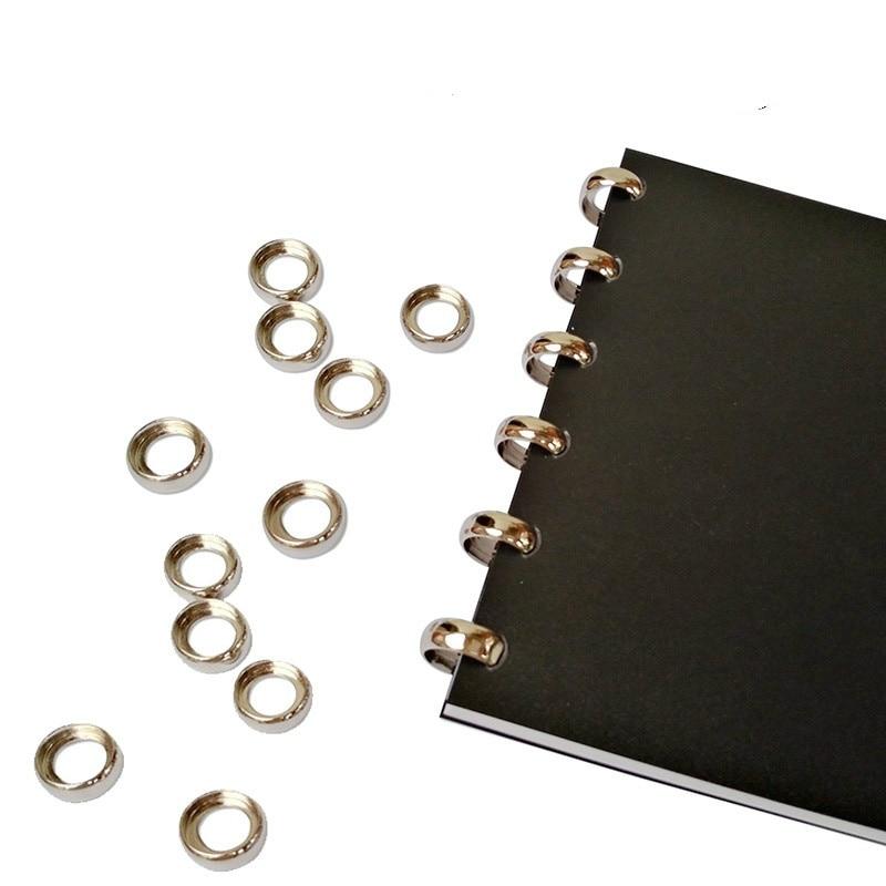 Металлическое кольцо 18 мм, планер с отверстиями для грибов, диск, переплет, пряжка, кнопка для отверстий, блокнот, складной диск, ноутбук, офи...