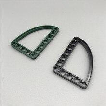 * Curva de halfbeam 5x7 * g1181 5 piezas diy iluminar bloque pieza de ladrillo n. ° 32251 compatível com peças de en