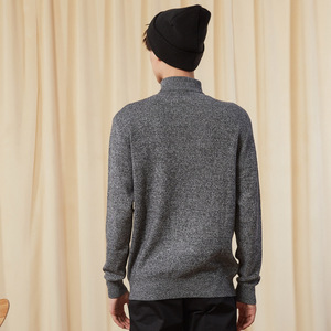 Image 5 - Metersbonwe Nieuwe Brand Coltrui Mannen Winter Fashion Lange Mouwen Gebreide Mannen Katoenen Trui Hoge Kwaliteit Kleding