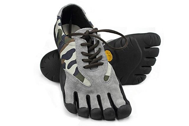 QWEDF nouveau printemps et automne hommes chaussures de sport à cinq doigts hommes cinq orteils chaussures décontractées chaussures de fitness doux et confortable SE-13