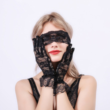 цена на Adult Games Slave Sex Toys For Woman Lace BDSM Bondage Restraints Fetish Mask Cosplay Flirting Blindfold Erotic Soft Eye Patch