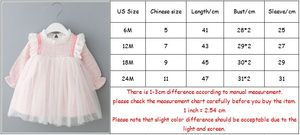 Image 5 - Baby Girls Dresses Lace Christmas Dress Wedding Party Ball Gown Children Clothing Kids Dresses For Girls 0 2Y