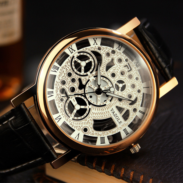Relogio Masculino 2020 Yazole Brand Watch Business Men's Watch Fashion Luminous Quartz Watch Unique Leisure Leather Watches